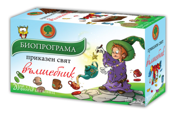 Чай Вълшебник филтър 20 бр. Биопрограма